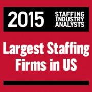 2015 US Largest Staffing Logo