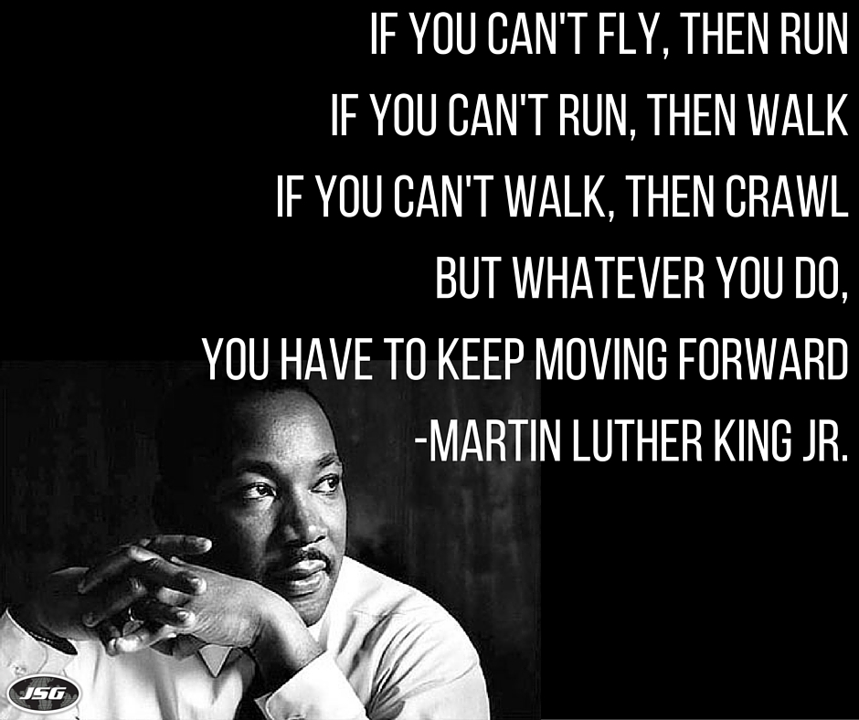 Marting Luther King Jr, Inspiring Quote, Career Advice