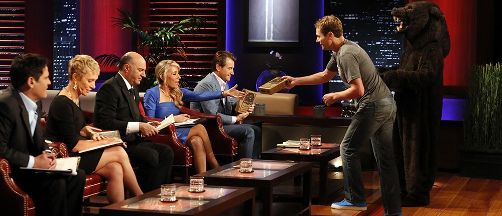 Kodiak Cakes on Shark Tank (ABC/Kelsey McNeal) MARK CUBAN, BARBARA CORCORAN, KEVIN O'LEARY, LORI GREINER, ROBERT HERJAVEC, CAMERON SMITH, JOEL CLARK (KODIAK CAKES)