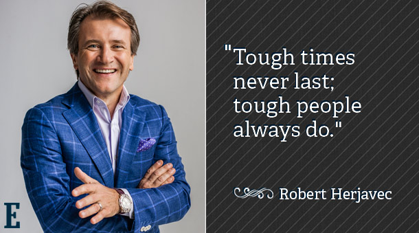 Robert Herjavec from Shark Tank