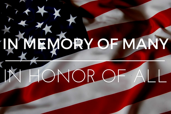 What Memorial Day Means to JSG - In Memory of Many, In Honor of All