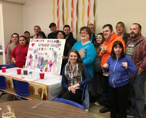 The Arc of Spokane and Johnson Search Group - Thanksgiving 2016