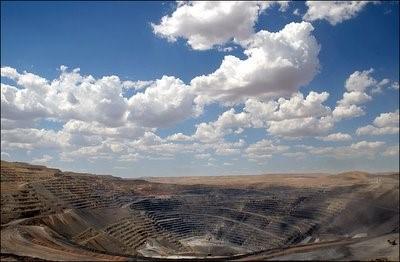 Barrick's Goldstrike Mine in Nevada