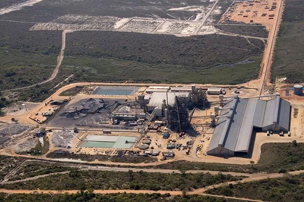 Moma Titanium Mine in Napula