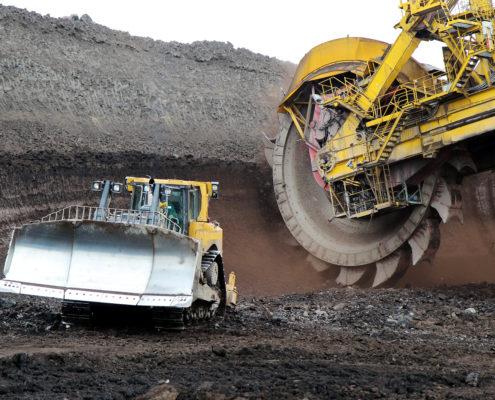 coal mines