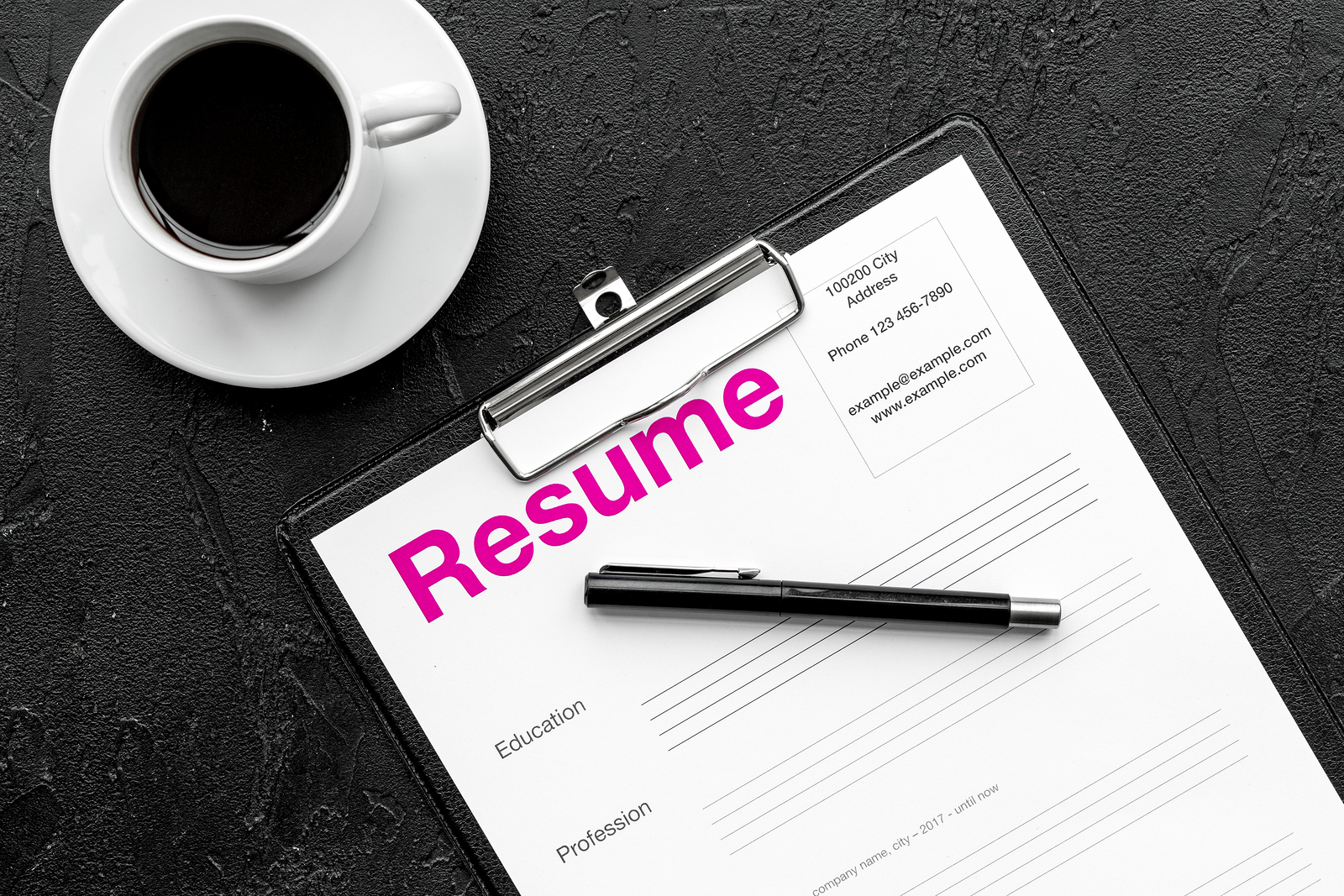 how to spring clean your resume