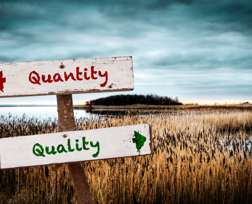 In The World Of Recruiting, Quality Beats Quantity